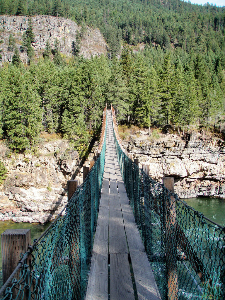 Much pics of swinging bridge in montana personal messages